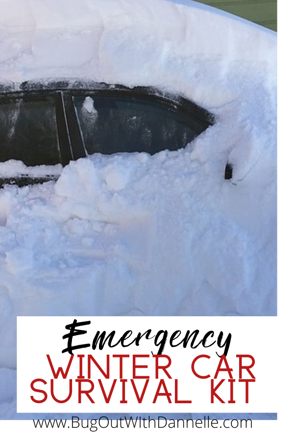 Emergency Winter Car Survival Kit