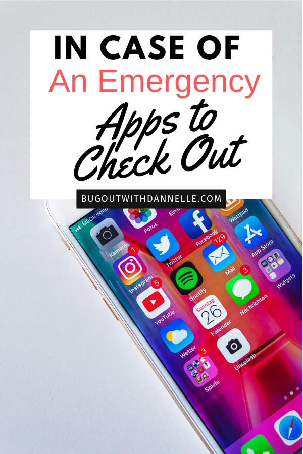 In Case of An Emergency Apps article  cover