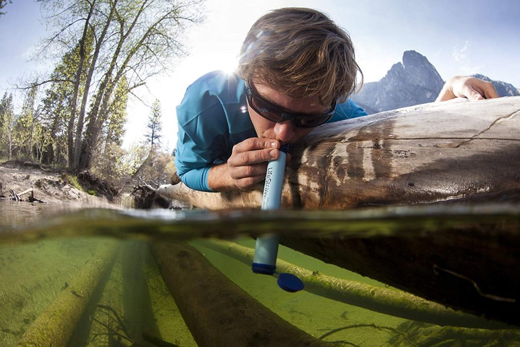 How to use a Lifestraw Personal Water Filter