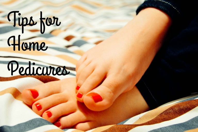 tips for home pedicures