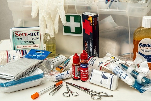 Pandemic Kit first aid supplies
