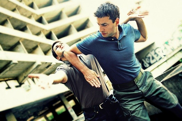 hand to hand combat when Fighting Back