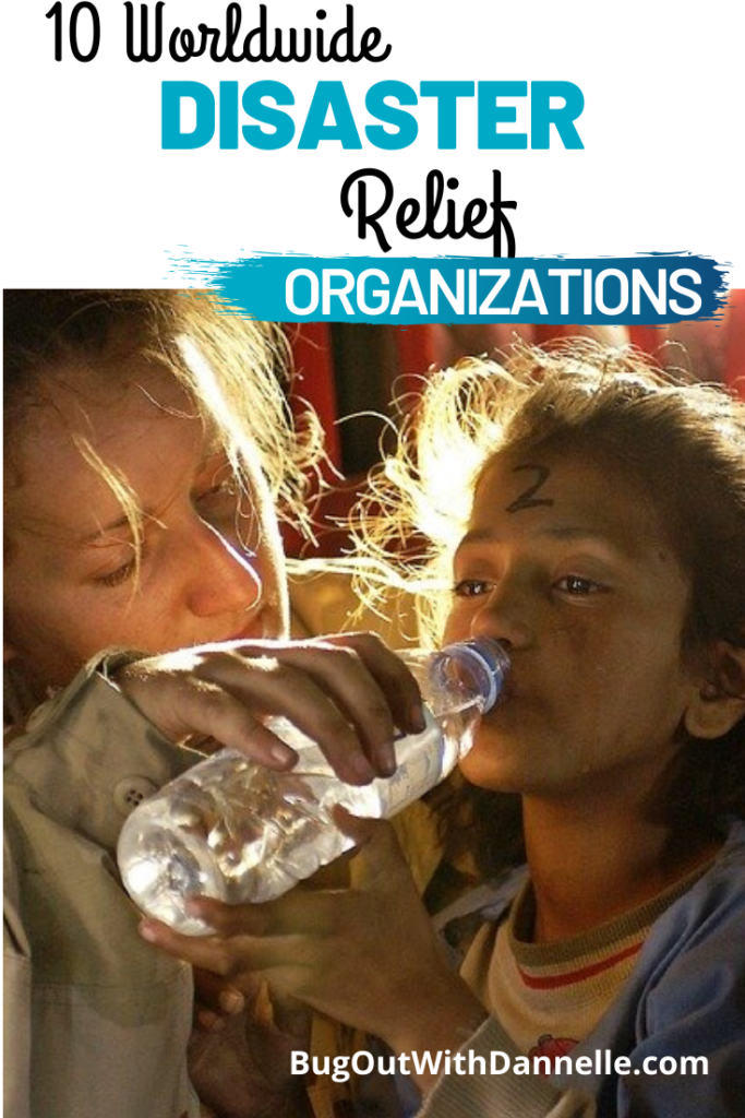 10 Worldwide Disaster Relief Organizations article cover image