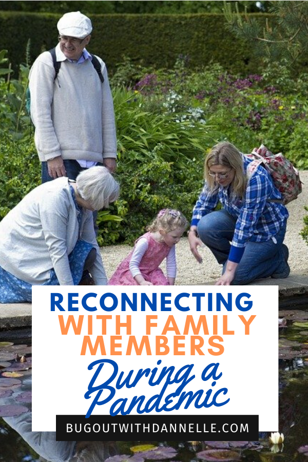 Reconnecting with family members during a pandemic article cover image