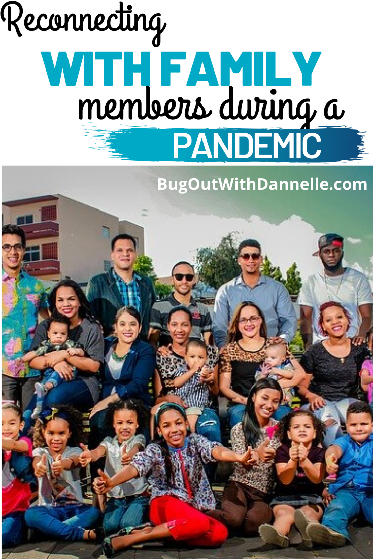 Reconnecting with family members during a pandemic