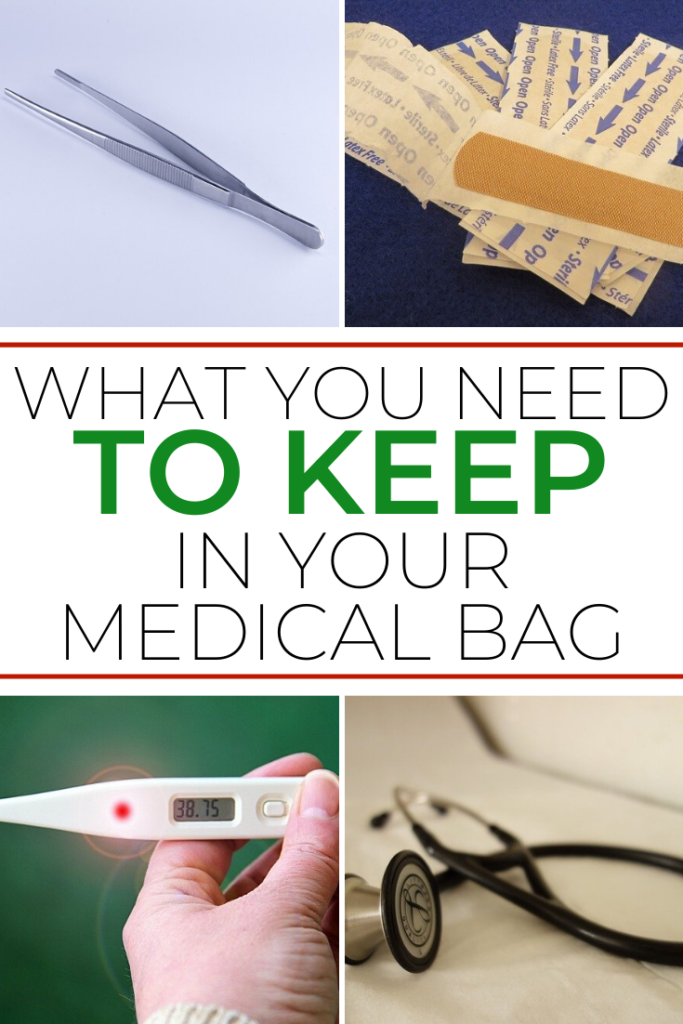 what to keep in your medic bag