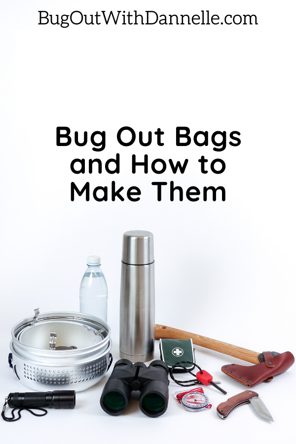 Checklist for Bug Out Bag
