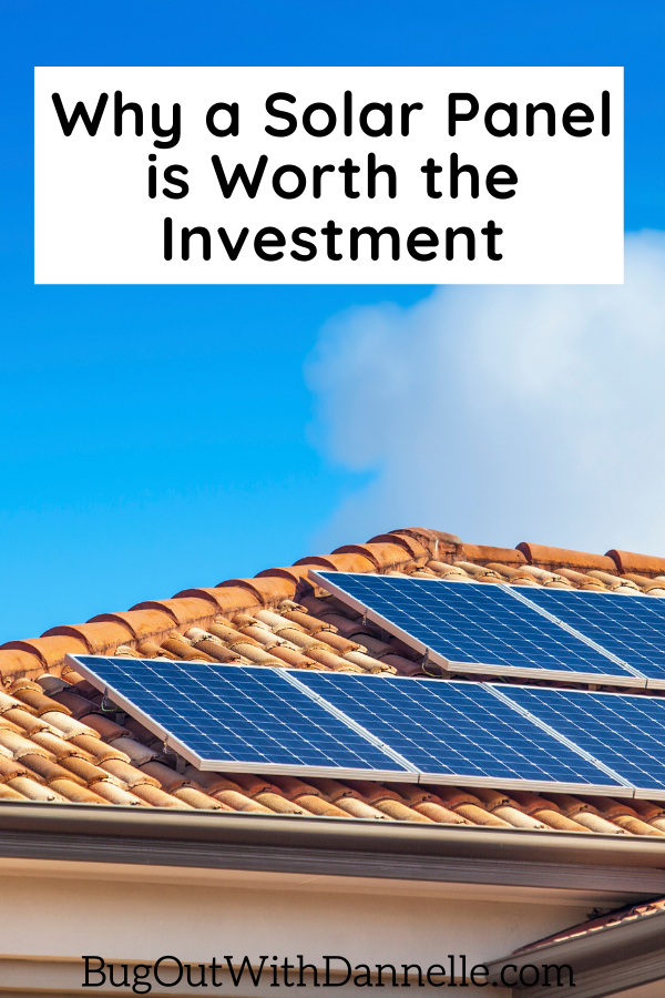 Why a Solar Panel is Worth the Investment article cover image of solar panels on the roof
