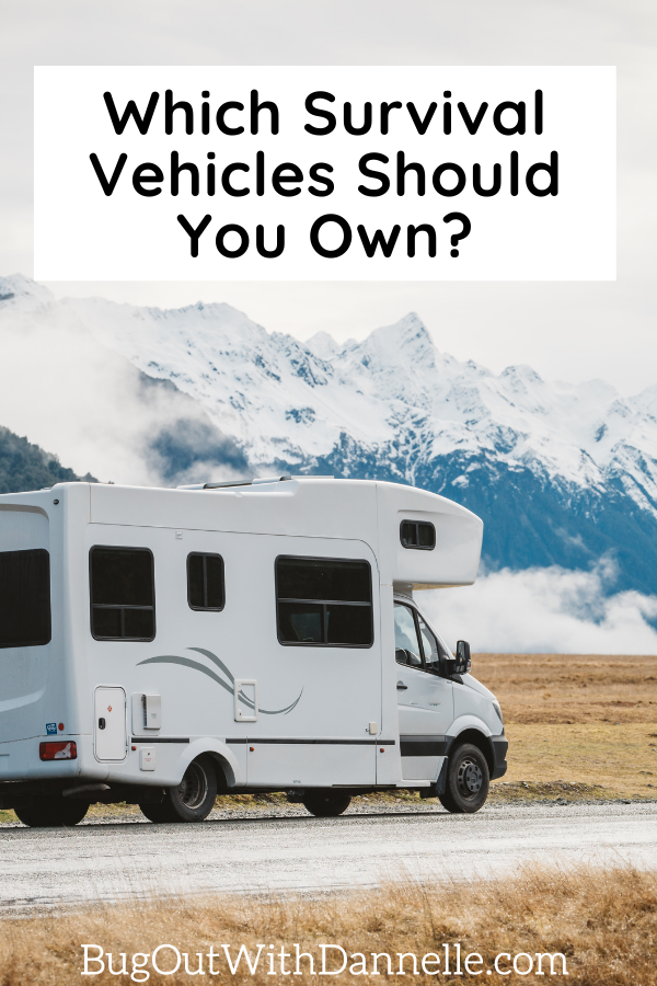 Which Survival Vehicles Should You Own article cover image with a camper on it