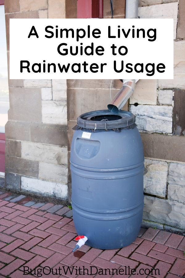 A Simple Living Guide to Rainwater Usage