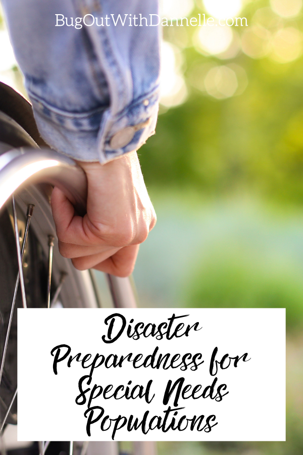 Disaster Preparedness for Special Needs Populations: Survival Kits for Disabled and Elderly