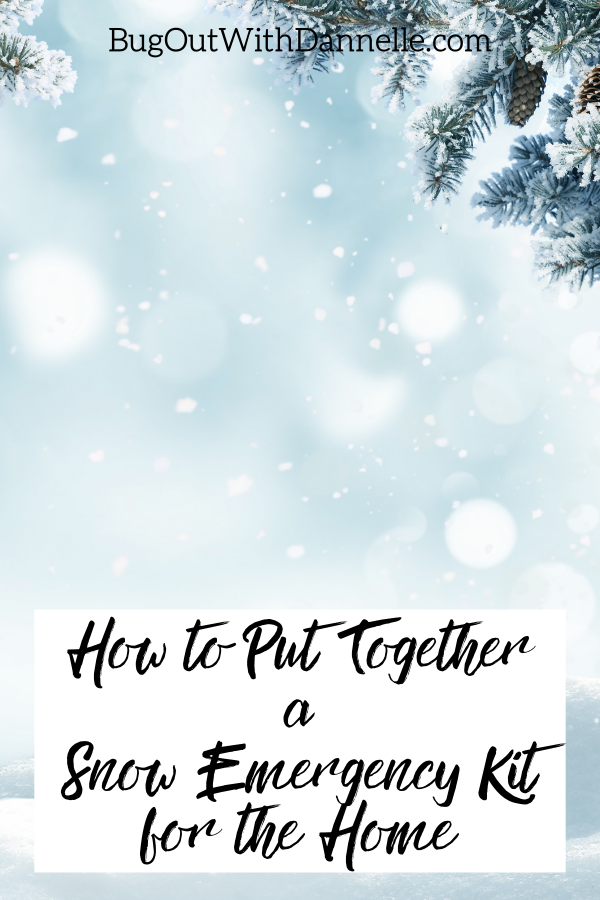 How to Put Together a Snow Emergency Kit for the Home article cover image