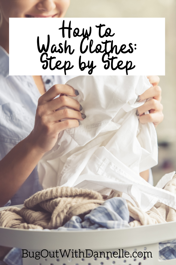 How to Wash Clothes Step by Step article cover image