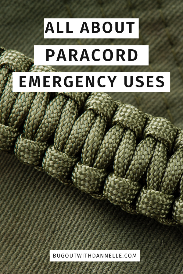 Paracord Survival Bracelet DIY and Other Paracord Uses