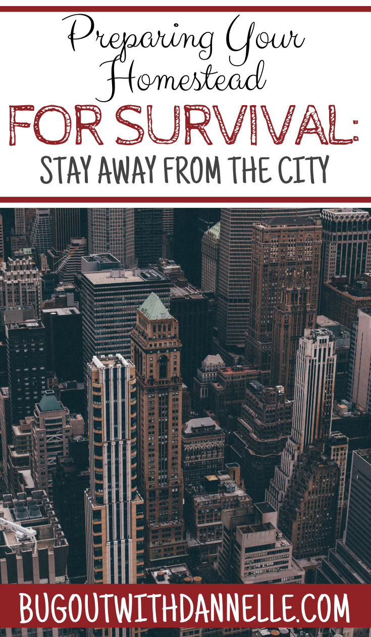 Preparing Your Homestead for Survival: Stay Away from the City
