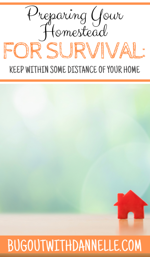Keep Within Some Distance of Your Home article cover image with a small plastic read house