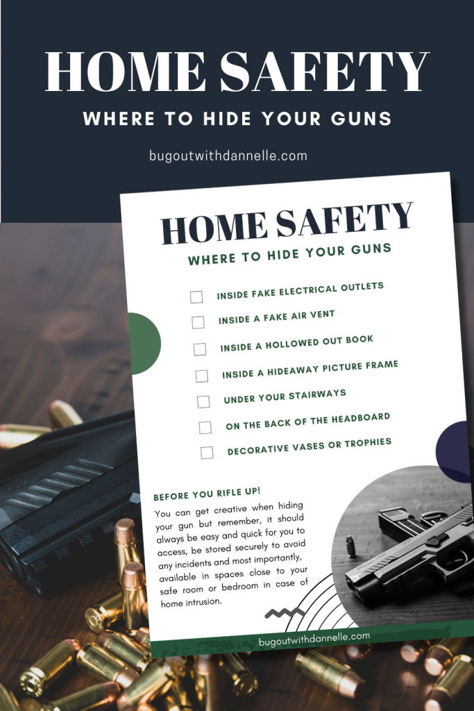 where to hide your guns