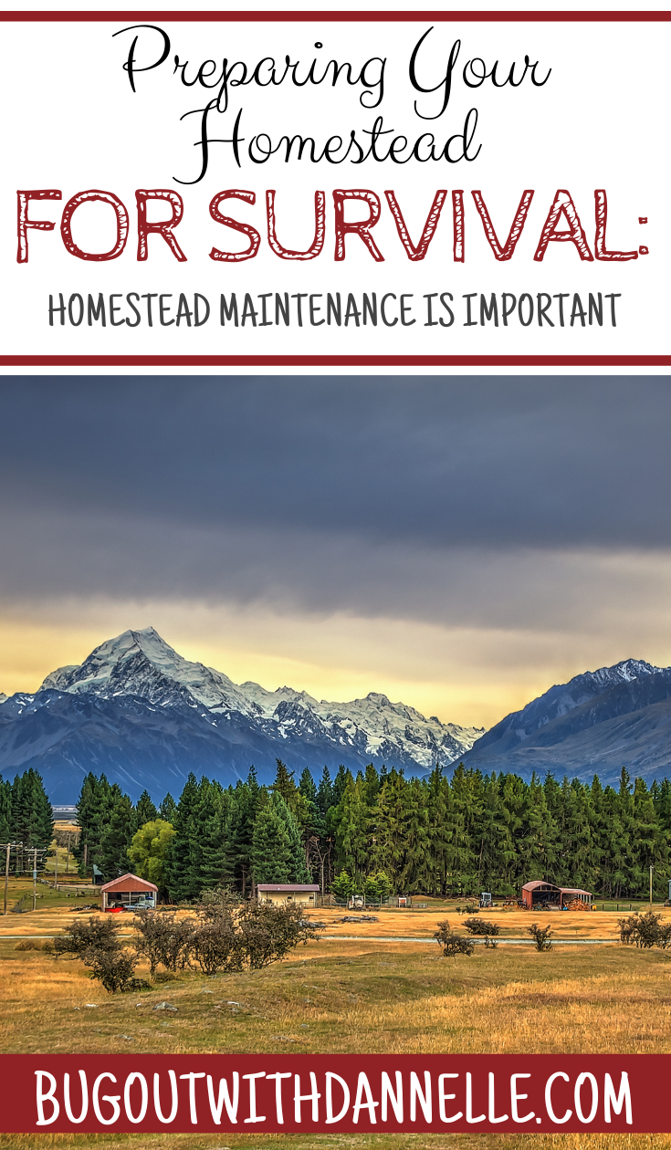 Preparing Your Homestead for Survival: Homestead Maintenance is Important