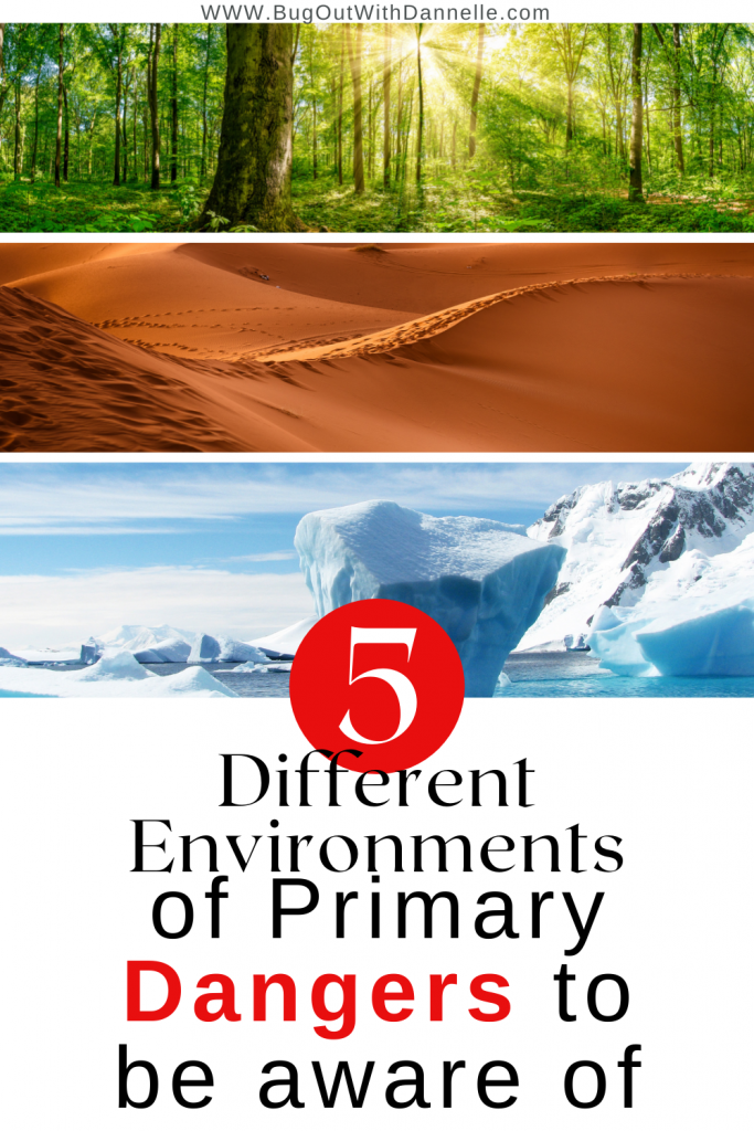 Primary Dangers in Different Environments To Be Aware Of
