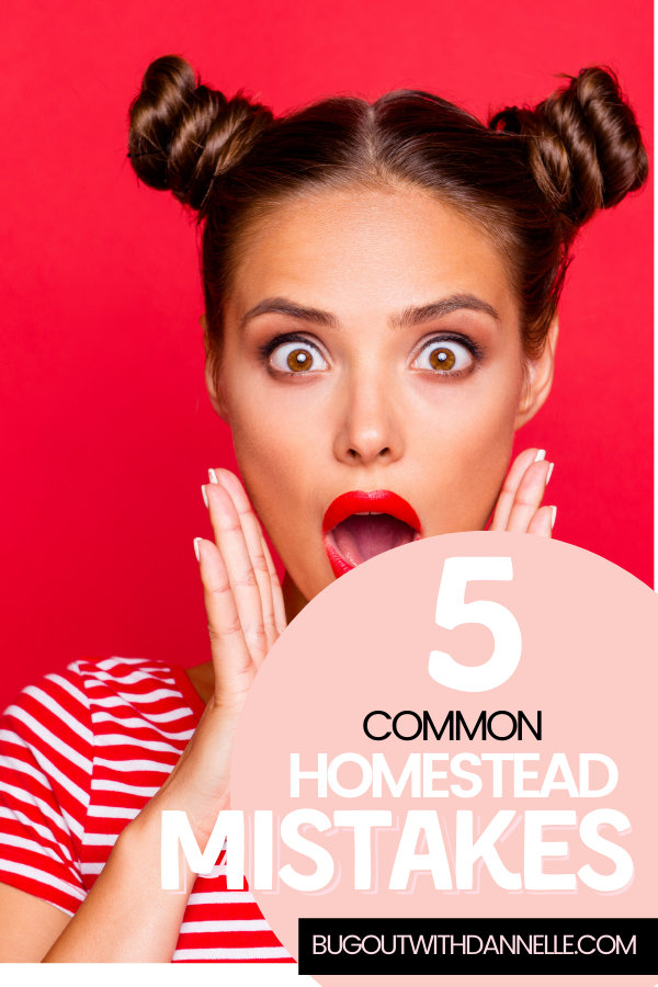 The 5 Top Mistakes New Homesteaders Make
