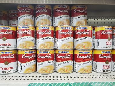 Canned soup coupons