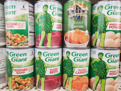 Canned veggie coupons